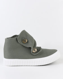 Soviet K Chance Snood Sneaker Olive