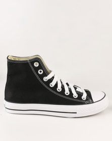 Soviet Viper Hi Casual High Top Lace Up Canvas Sneaker Black