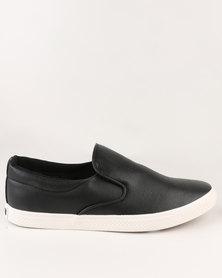 Soviet Birmingham Casual Slip On Sneaker Black