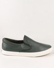 Soviet Birmingham Casual Slip On Sneaker Olive