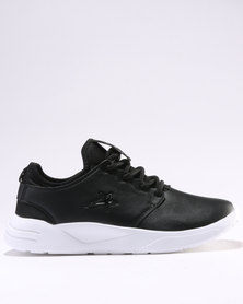 Soviet Brooklyn Casual Low Cut Lace Up Sneaker Black