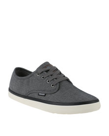 Soviet Cork Casual Lace Up Shoe Grey