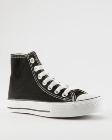 Soviet Viper High Youth Sneakers Black