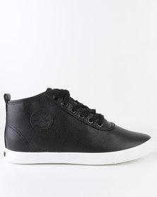Soviet Callista Hi High Top Lace Up Sneakers Black
