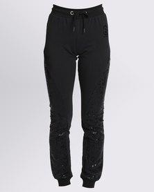 Soviet Oksana Sweat Pants Black