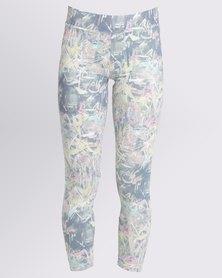 Soviet Brandi Yoga Pants Grey Melange