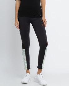 Soviet Briana Capri Yoga Pants Black