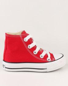 Soviet K Viper Hi Cut Sneakers Red