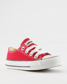 Soviet K Viper Low Cut Sneakers Red