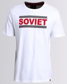 Soviet Trace T-shirt White