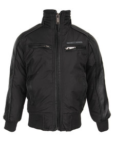 Soviet Hercules Padded Jacket Black
