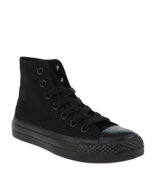 Soviet Mono Viper High Youth Sneaker Black