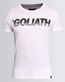 St. Goliath Splitter Tee White
