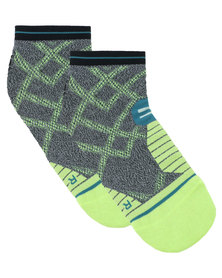 Stance Performance Endeavor Tab Socks Grey