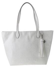 Steve Madden Brepeat Handbag White