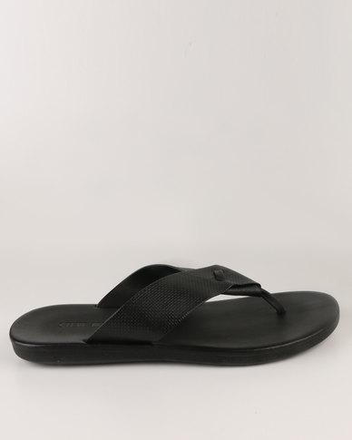 Steve Madden Kail Sandals Black