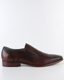 Steve Madden Aioli Dress Shoes Brown