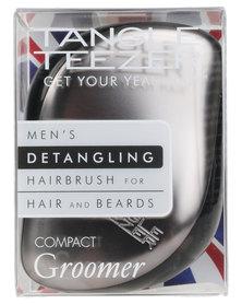 Tangle Teezer Compact Styler Hairbrush Mens Compact Groomer Grey
