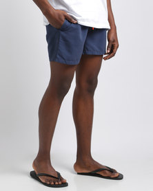 Temple of Reason Midnight Swim Shorts Navy