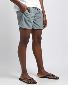 Temple of Reason Steel Swim Shorts Grey