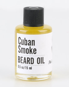 The Gentleman's Beard Club Mini Beard Oil Cuban Smoke