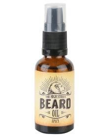 The High Street Barber Spicy Beard Oil 30ml