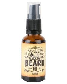 The High Street Barber Citrus Beard Oil 30ml