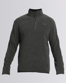 The North Face 100 Glacier 1/4 Zip Sweatshirt Grey