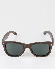 Thisguy Ebony Wood Wayfarer Sunglasses - Full Frame - Polarized
