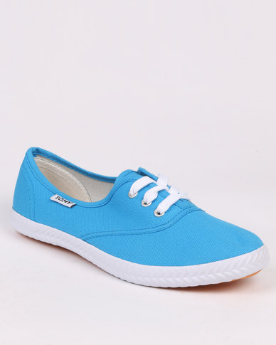 Tomy Takkies Original Toe Cap Lace Up Blue