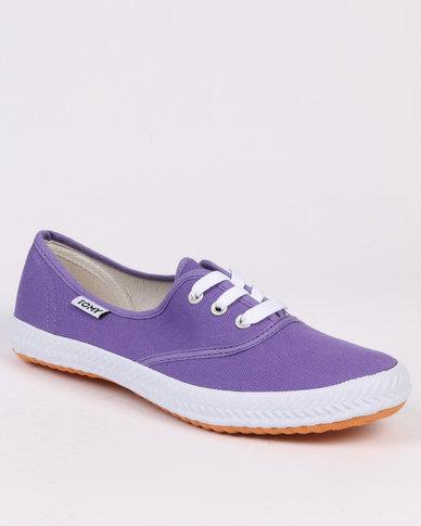 Tomy Takkies Original Lace Up Purple