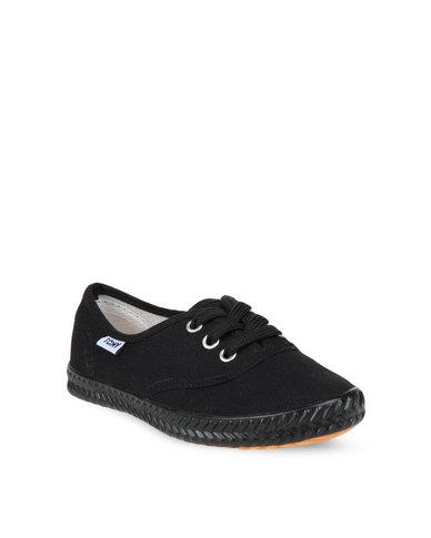 Tomy Canvas Sneakers Black