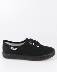 Tomy Takkies Original Kids Sneaker Black