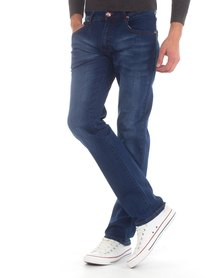 Top Warrior Top Refinement Jeans Blue