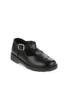 Toughees Girl's Tear Drop Shoes Black