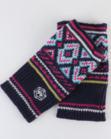 Urban Beach L Knitted Gloves Audrey Pink