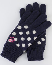 Urban Beach L Knitted Gloves - Audrey Blue