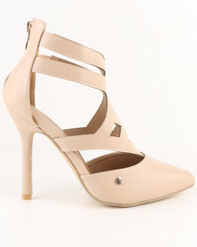 Urban Zone Pointy Heels Nude
