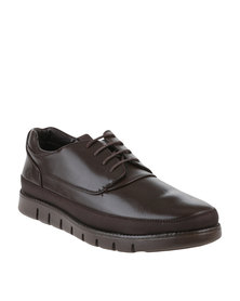 Urbanart Zero 2 Wax Casual Lace Up Shoes Brown