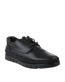 Urbanart Zero 2 Wax Casual Lace Up Shoes Black