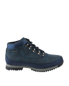 Urbanart Crocco 4 Nub Can Casual Lace Up Ankle Boots Navy