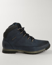 Urbanart Crocco 5 Casual Lace Up Boot Navy