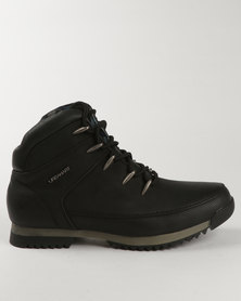 Urbanart Crocco 5 Casual Lace Up Boot Black