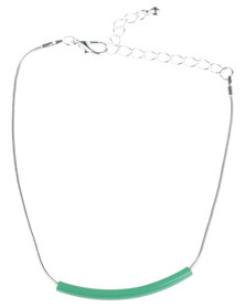 Utopia Enamel Bracelet Green