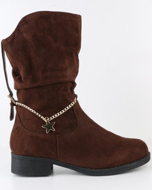 Utopia Charm Ankle Boot Grey