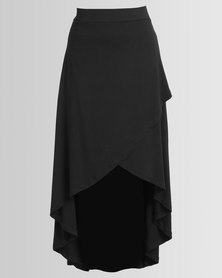 Utopia Wrap Skirt Black