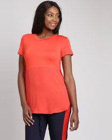 Utopia Casual Top Red