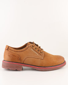 Utopia Leather Lace Up Shoe Camel