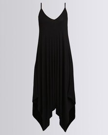 Utopia Knit Harem Jumpsuit Black