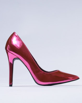 Utopia Patent Pointy Court Red